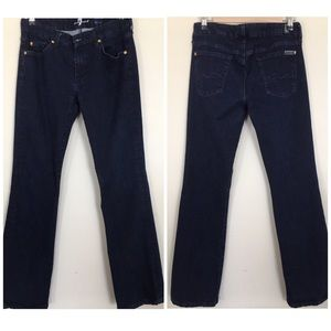7 For All Mankind Kimmie Boot Cut Size30